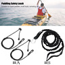Safety Kayak Canoe Boat Paddle Leash Fishing Rod Coiled Lanyard Cord Elastic SD