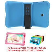 "Heavy Duty Kids Safe Shockproof Stand Silicone Case For Samsung Tablet 7""-10.1"""