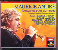 Maurice ANDRE Albinoni Cimarosa Tartini Torelli Stölzel EMI 2CD Trompete Trumpet