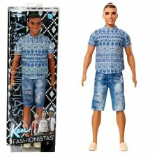 Distressed Denim Ken | Barbie | Mattel FNJ38 | Broad Fashionistas 13 | Puppe