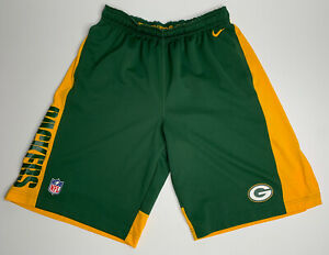 Nike x Green Bay Packers 2014 Team Issue Training Shorts - L