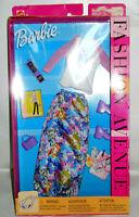 BARBIE FASHION AVENUE -New/NRFB 2002 Barbie Doll Skirt, Shirt, Accessories NICE!