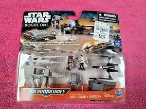 new Star Wars Micro Machines Rogue One FIGHT THE IMPERIAL MIGHT 7 set (open box)
