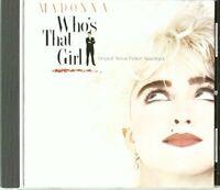Madonna - Whos That Girl: Original Soundtrack [SOUNDTRACK] [CD]
