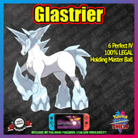 GLASTRIER | Crown of Tundra | 100% Legal | 6IV |  Pokemon Sword Shield