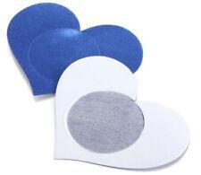 Nippies : bijou de seins , cache tétons nipples coeur bleu, accessoire sexy