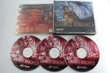 PC GABRIEL KNIGHT 3 PAL ESPAÑA