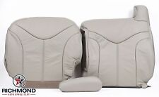 2000 GMC Yukon XL SLT -Driver Side Complete Replacement Leather Seat Covers Tan