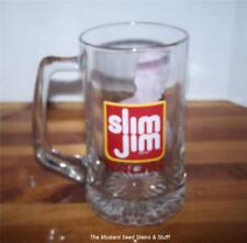 Heavy Glass SLIM JIM ~ MIKE COPE 1998 NASCAR Busch Series Rookie Mug Stein!