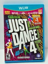 Wii U Just Dance 4 Complete with Case, Game, and Manual