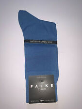 Falke Tiago Fil D'ecosse Light Blue Socks Size 8½ - 9½