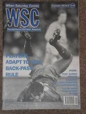 When Saturday Comes Football Magazine September 1992