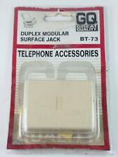 GQ BT-73 Duplex Modular Surface Jack Telephone Accessories