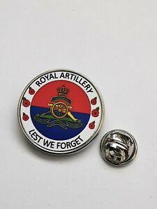 Royal Artillery Lest We Forget Army lapel pin badge / Key Ring  / Fridge Magnet