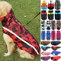 Haustier Kleidung Hundemantel Wasserfest Winter Hundebekleidung Warme Hund Weste