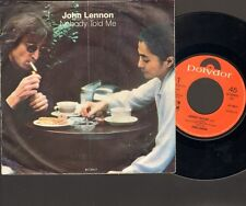 "JOHN LENNON Nobody Told Me 7"" SINGLE 1983 YOKO ONO o Sanity"