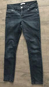 Clockhouse Damen RegularJeans Gr 38 Schwarz/grau Jeans Hose top