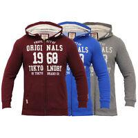 Boys Sweatshirt Tokyo Laundry Kids Hooded Top Jacket Fleece Lined Casual Summer
