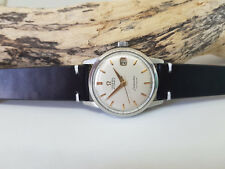 USED VINTAGE OMEGA SEAMASTER SILVER DIAL DATE AUTOMATIC CAL:501 MAN'S WATCH