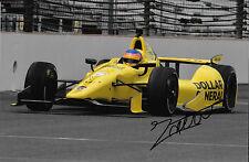 Jacques Villeneuve SIGNED Schmidt Petersen Dallara DW12 , Indianapolis 500  2014