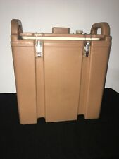Cambro Tan Insulated Soupbeverage Carrier 350lcd 338 Gallon Capacity 1i