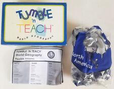 Scott Tumble 'N Teach World Geography Educational Interactive Teaching Ball gr4+