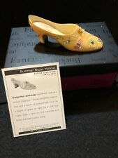 "Collectible ""Just the Right Shoe"" by Raine - Summer Buzz, Yellow, Circa 2004"