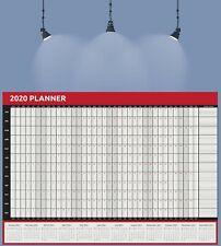 2020 A3 Size Full Year Wall Planner Calendar Home Office Work JAN - DEC