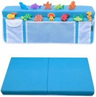 Supa Ant Bath Kneeler and Elbow Rest with 12 Free Bath Toys- Machine Washable