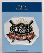 Louisville Slugger Museum Factory Louisville Kentucky Souvenir Patch
