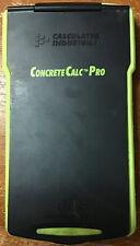 Calculated Industries ConcreteCalc Pro Armadillo Gear Concrete Calculater 5032