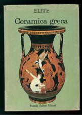 MINGAZZINI PAOLINO CERAMICA GRECA FABBRI 1966 ELITE 36 ANTICA GRECIA