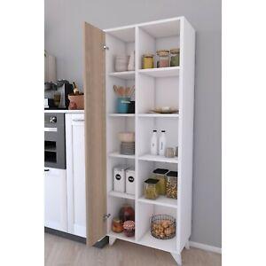 Mehrzweckschrank Küchenschrank Regale mit zwei Türen,kellerschrank,Abstellraum