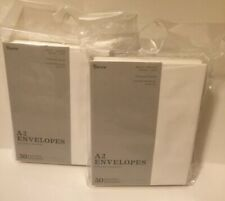"""6 pack 300 (AA) Heavyweight A2 Envelopes (4.375""""X5.75"""") White Free Shipping"""