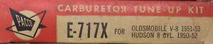 Pacco Carburetor Tune Up Kit E-717X Oldsmobile V8 1951-53 Hudson 1952  (471*)