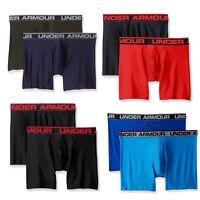 """UA Under Armour Mens Original Series 6"""" Boxerjock, 2 Pack, Multiple Sizes/Colors"""
