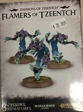 Warhammer 40K & Age of Sigmar, Daemons of Tzeentch FLAMERS (3) New Sealed