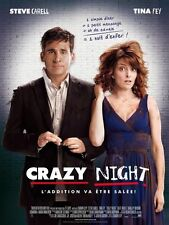 Affiche 40x60cm CRAZY NIGHT /DATE NIGHT 2010 Steve Carell, Tina Fey NEUVE