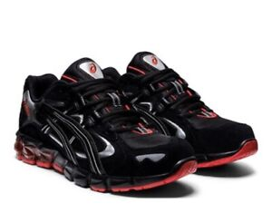 Black & Red Gel-Kayano 5 KZN Running Shoe - Men 12
