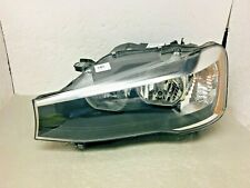 OEM 2011 2012 2013 2014 BMW X3 LH Driver Halogen Headlight Deep Scratch Crack