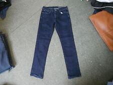 """F&F Slim Jeans Waist 34"""" Leg 32"""" Faded Dark Blue Mens Jeans"""