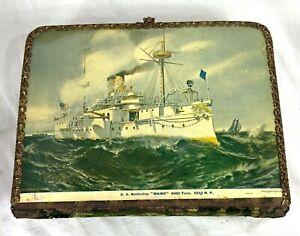 1898 USS Maine Battleship Themed Photo Album
