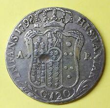 FERDINANDO IV,  120 GRANA 1798 REGNO DI NAPOLI