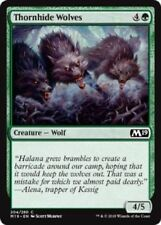 MTG x4 Thornhide Wolves Core Set 2019 M19 Common Green NM/M Magic the Gathering