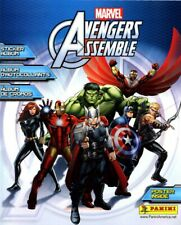 *NEW*2013 Panini MARVEL Avengers Assemble AlbumW/COMPLETE STICKER SET 192&POSTER