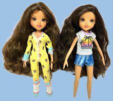 Moxie Girlz Doll Lot Two Dolls No Shoes
