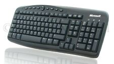 Microsoft Spanish Español Keyboard RT2300 Wired PS2 PS/2 X801384-251 Computer PC