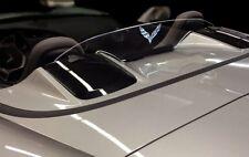 Custom Etched Wind Restrictor® brand wind deflector screen Stingray Corvette C7