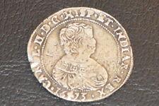 Charles II demi ducaton 1673 flandres