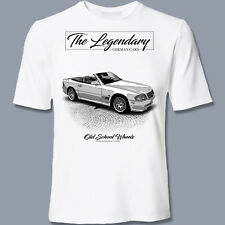 T-Shirt, Mercedes 500 SL, legendary, Youngtimer, Oldtimer, orig. YOUTEX